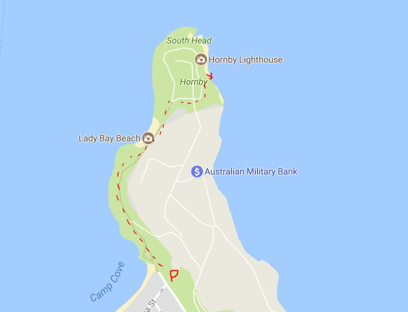 getting to hornby lighthouse
