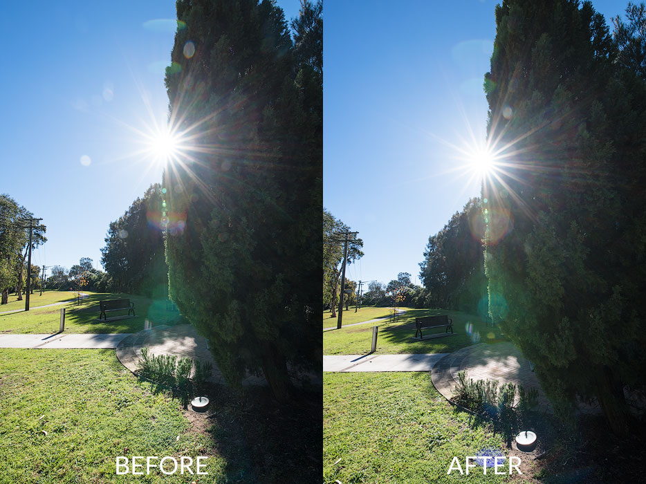 lens cleaning importance for starburst effect